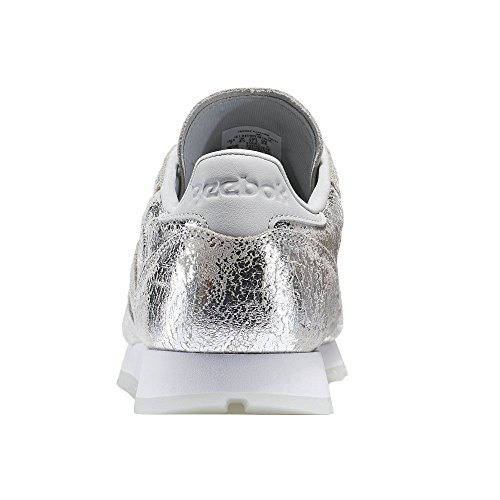 Reebok Classic Leather Hype Donna Sneaker Metallico Argent