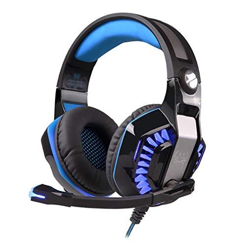 G2000 Leichte Gaming Headset LED-Stirnband Luminous Gamer Kopfhörer -