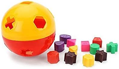 Ratna's Shape Sorting Puzzle Ball Toys