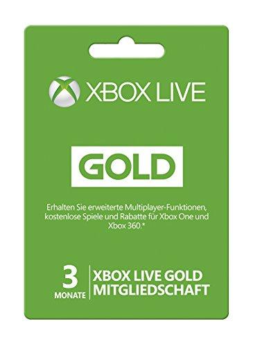 Xbox Live - Gold-Mitgliedschaft 3 - 360 Xbox Gold-mitgliedschaft