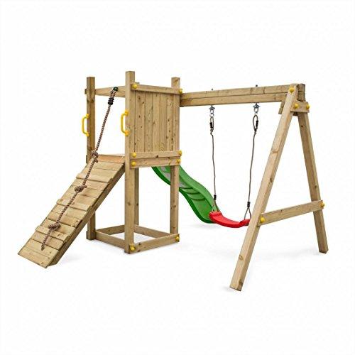 Preisvergleich Produktbild Fungoo Spielturm Dexter mit Rutsche 170cm (4 Kartons), 03705