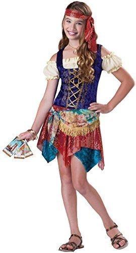 eenage Mädchen Gypsy Piraten Halloween Party Kostüm Kleid Outfit 8-14 Jahre - 8-10 Years ()