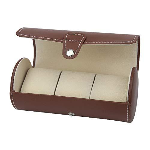 Preisvergleich Produktbild Lineary Luxury Watch Aufbewahrungskoffer PU-Leder-Rollenreise-Uhrenbox-Halter-... Gitter für Uhren oder Armbänder Schmuck Organizer Display Box