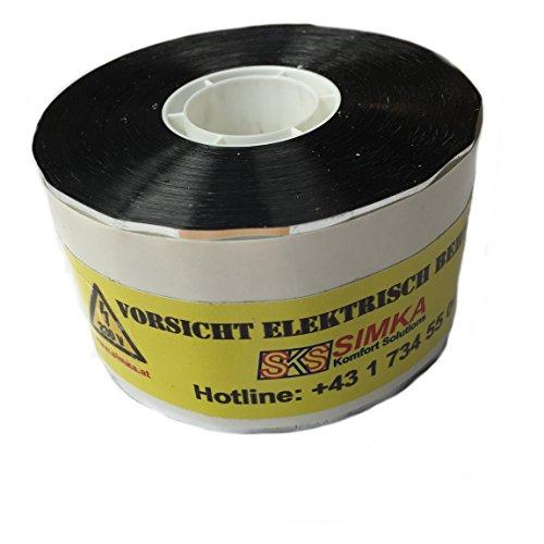 Aluminium-Klebeband für Rohrbegleitheizung, optimale Befestigung und Wärmeverteilung