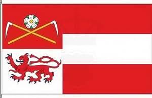 Königsbanner Hochformatflagge Marienheide - 120 x 300cm - Flagge und Fahne
