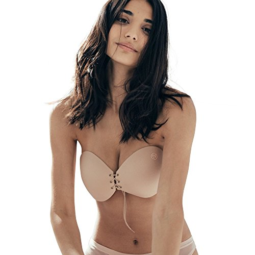 Sneaky Vaunt Women's Push Up Bra - Backless, Strapless - 411 2BOkVtOsL - Sneaky Vaunt Women's Push Up Bra – Backless, Strapless