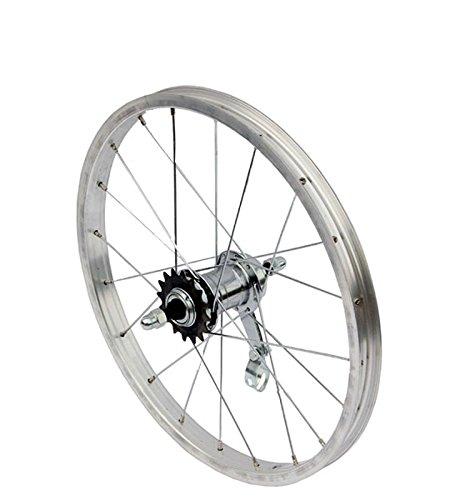Hinterrad Fahrrad Aluminium Felge Laufrad Hinten 16 Zoll Rücktrittbremsnabe