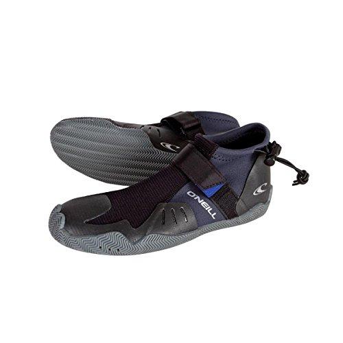 2018 O'Neill SuperFreak Tropical 2mm Round Toe Boot 4125 Boot/Shoe Size UK - UK Size 8 (Schwarz-surf-boot)