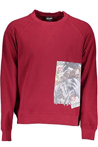 Just Cavalli S01GU0044 Sweatshirt ohne Reißverschluss Harren Rosso 259 S