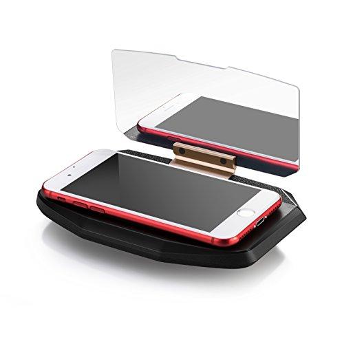Eximtrade HUD Head Up Display Coche Porta Soporte Telefono GPS Reflector de Imagen