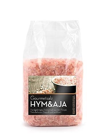 Gourmet Kristallsalz grob, handverlesene Spitzenqualität, Nähe Himalaya, Salz Sparpackung 1000