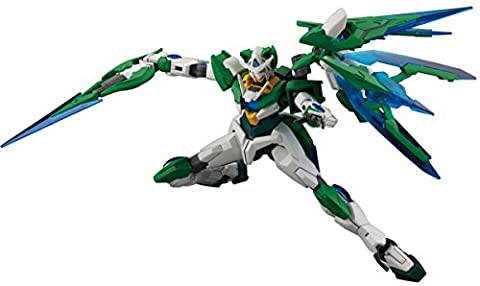 HGBF Gundam Build Fighters Try Gundam 00 Shea Quanta 1/144 Scale Plastic ModelBANDAI