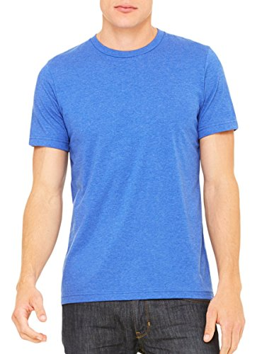 Glorious Return Bella Canvas Unisex Jersey Short Sleeve Tee Heather True Royal
