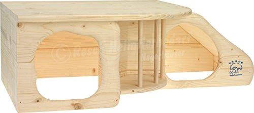"""Resch Nr. 11 """"Nagerhöhle XL"""" naturbelassenes Massivholz aus Fichte - 2"""