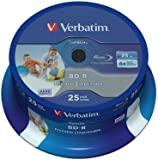 Verbatim (43811) : BD-R 6x 25-pack : Datalife Optical Media