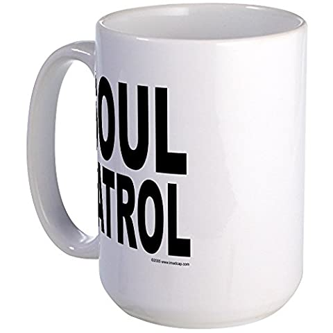 CafePress - Soul Patrol - Coffee Mug, Large 15 oz. White Coffee Cup