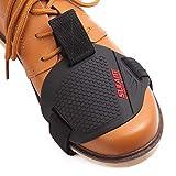La Cabina Protection de Chaussure pour la moto - Anti-abrasion Couvre Protecteurs de Chaussure Bottes pour Levier de Vitesses Moto - Protège Chaussures Moto