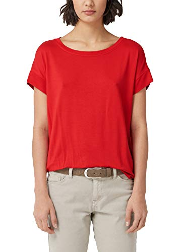 s.Oliver Damen 04.899.32.5098 T-Shirt, Rot (Red 3123), 44