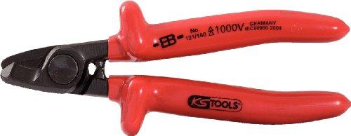 KS Tools 117.1722 CLASSIC 1000V Seitenschneider beschichteter Arbeitskopf 180mm