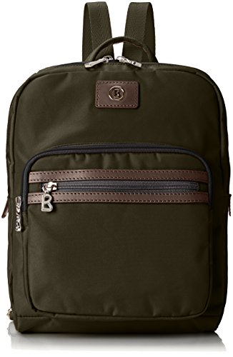 Bogner Damen Backpack 3 Rucksack, Grün (Slate), 8x33x26 cm (Fashion-gepäck-kollektion)