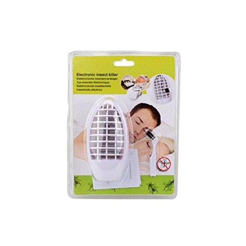 DRULINE 2er Sparset Elektronische Insektenfalle Insektenvernichter Mückenstecker Nachtlicht 4 x LED