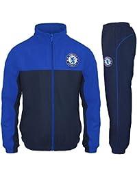 Chelsea FC - Chándal oficial para niño - Chaqueta y pantalón largos 98e2054aaa9d8