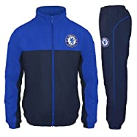 Chelsea FC Official Football Gift Boys Tracksuit Set 6-7 Years SB