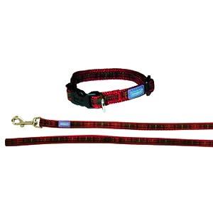 Dog-Co-Tartan-Purple-Dog-Collar-and-Lead