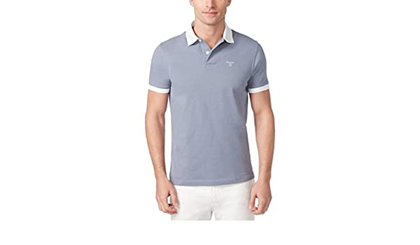 d7fcfc126 Barbour Men's Lynton Polo (Washed Blue, M): Amazon.co.uk: Clothing