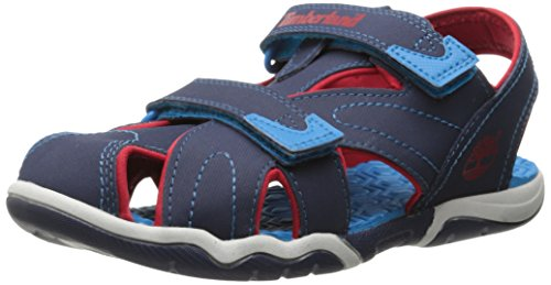 Timberland Active Casual Sandal FTK_Adventure Seeker Closed Toe Sandal, Unisex-Kinder Sandalen, Blau (BLUE), 40 EU
