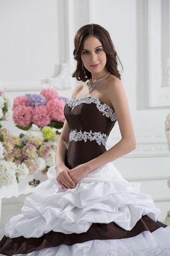 Lemandy - Robe - Sans Manche - Femme blanc blanc Blanc
