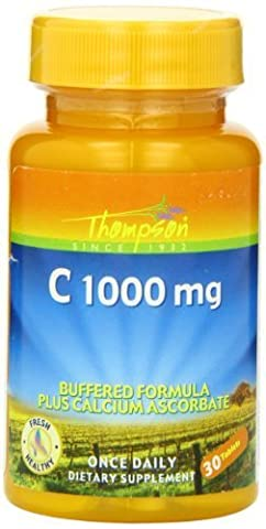 Thompson C Tablets, Buffered, 1000 Mg, 30 Count by Thompson