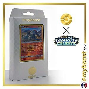 Regirock 80/168 Holo Reverse - #myboost X Soleil & Lune 7 Tempête Céleste - Box de 10 Cartas Pokémon Francés