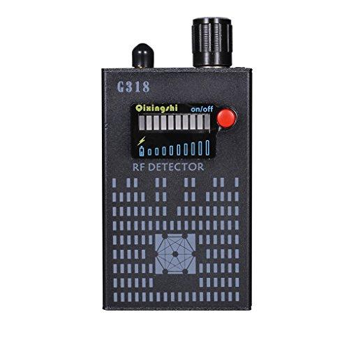 Lorsoul RF Radio Frequency Signal-Wanzen-Detektor, Finder Sweeper Wiretap Sicherheit, Auto Büro-Raum Alarm Suche nach dem Auffinden Detektor Radio