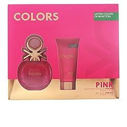 Benetton Colors Pink Set de...