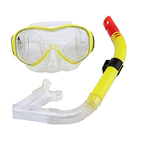 Schnorchelset mit Anti-Fog-Beschichtung Taucherbrille Halb-Trockenes Schnorcheln