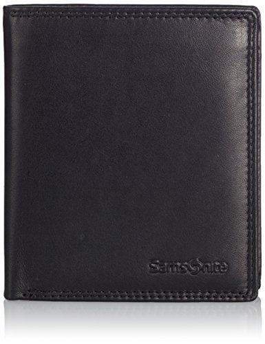 Samsonite Attack Quadrat Wallet with Flap BlackDatos:o Material: Cueroo Dimensiones: Ancho aproximadamente 9,5 cm, altura 10,5 cm, profundidad de unos 2 cmo Color: Negro (Negro)o Fabricante: Samsonite