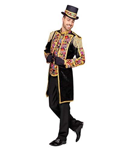 Horror-Shop Zirkus Dompteur Herren Kostüm-Frack für Fasching 50 (Herren Dompteur Kostüm)