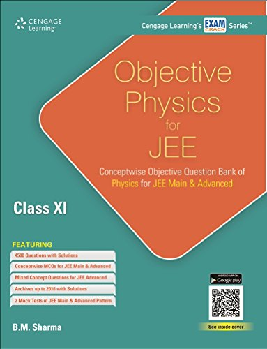 Objective Physics for JEE: Class XI