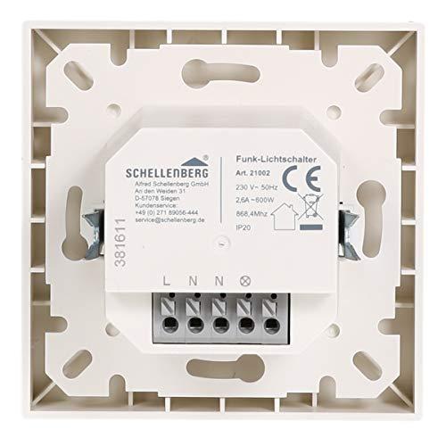 Schellenberg Smart Home Funk-Lichtschalter weiß - 3