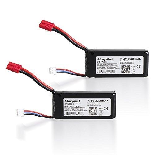 Syma x8 JXD 560G batería Morpilot 2PCS 7.4V 2200mAh Litio Bateria de...
