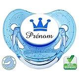 Sucette bébé Petit Prince bleu à personnaliser