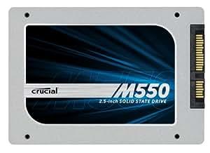 Crucial M550 SSD, 512GB, 2.5 Pollici, Grigio