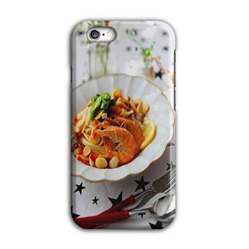 Wellcoda Meeresfrüchte Restaurant Essen Hülle für iPhone 6 / 6S Lecker Rutschfeste Hülle - Slim Fit, komfortabler Griff, Schutzhülle