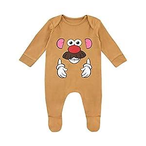 Disney-Pijama-Entera-para-Nios-Bebs-Toy-Story-Mr-Potato-Head-Marrn-9-12-Meses