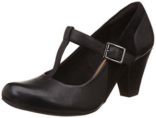 Clarks CLA Coolest Lass Black Leather Noir - noir