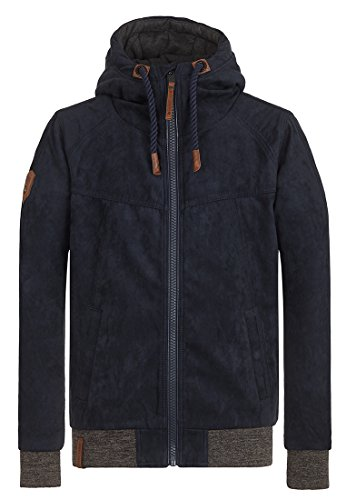 Naketano Male Jacket Muzzy Night Fever Dark Blue