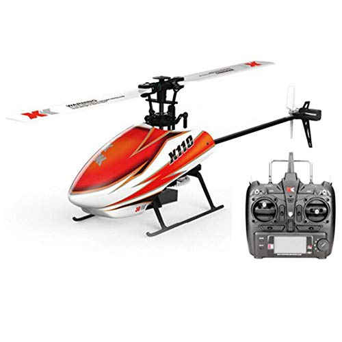 TOOGOO Xk K110 6Ch BüRstenlos 3D-6G System Rc Hubschrauber Rtf mit S-Fhss