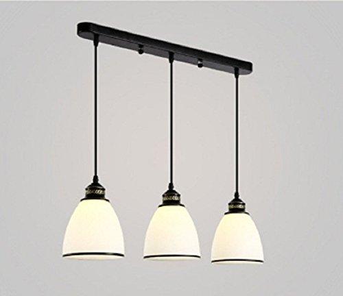 GROLIGHT LED 3 Testa Di Ferro Lampadari