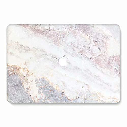 AQYLQ MacBook Schutzhülle/Hard Case Cover Laptop Hülle [Für MacBook Pro 13 Zoll - mit CD-Laufwerk: A1278], Ultradünne Matt Plastik Hartschale Tasche Schutzhülle, 748 Marmor (13 Zoll 2011 Macbook Pro Fall)